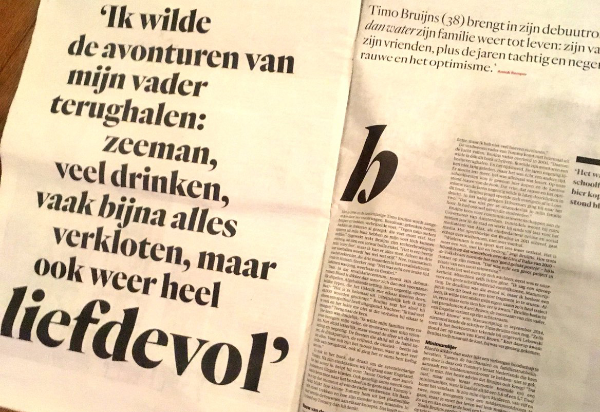 Press: Interview met Het Parool